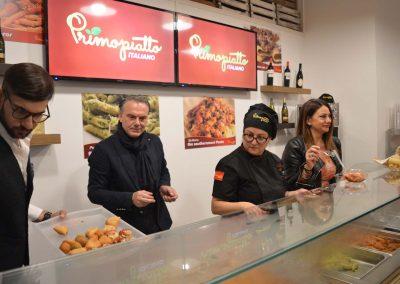 Ristorante PrimoPiatto Italiano - Inaugurazione del 31/10/2018